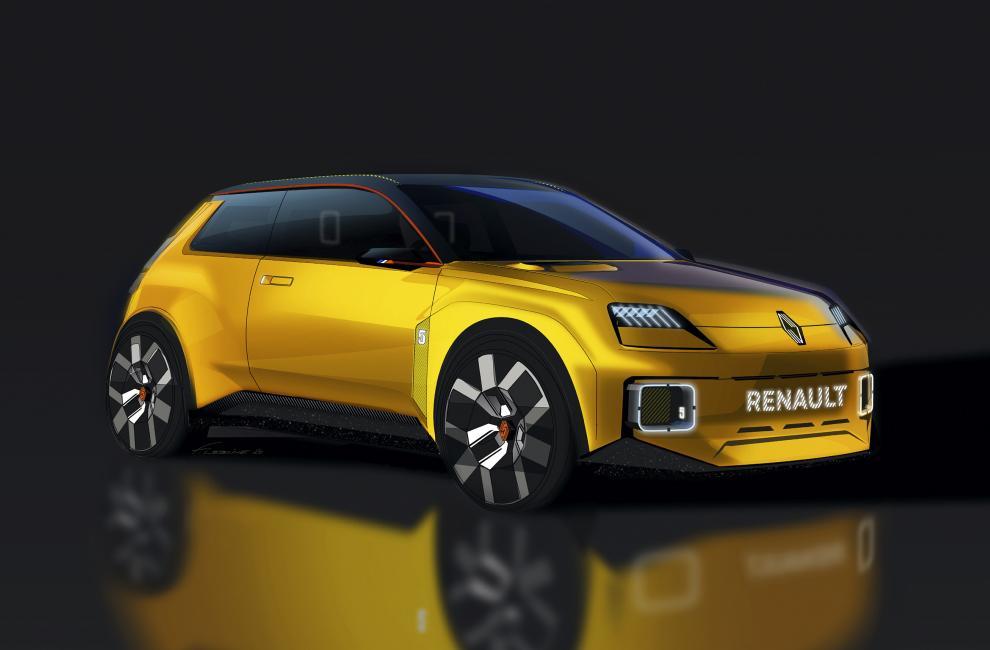 renault 5 R5 2021 nouveau