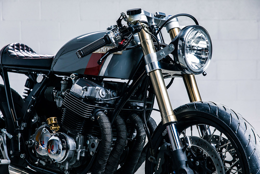 750 four cafe racer