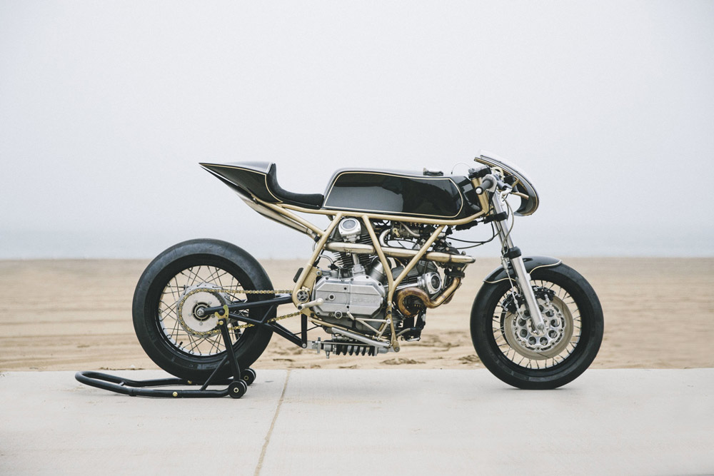 Ducati 860GT Turbo hazan motorworks
