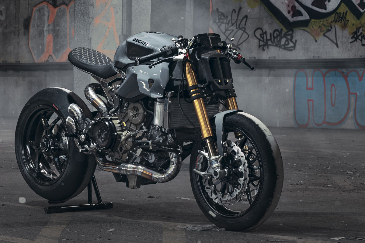 Ducati Panigale 1299 par Thornton Hundred Motorcycles