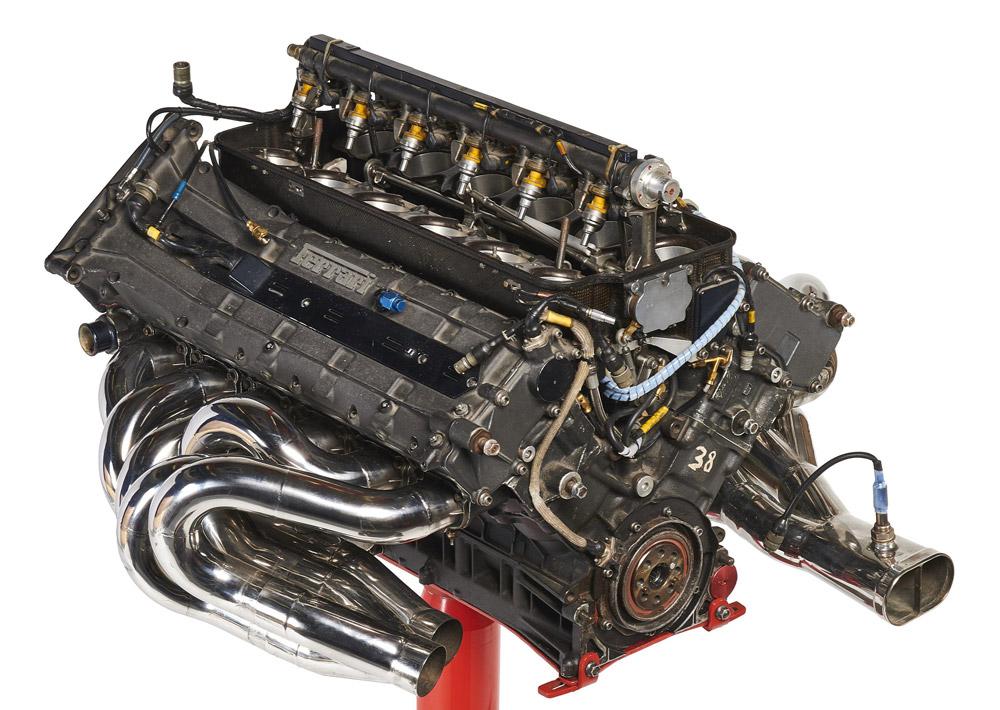 moteur V12 F1