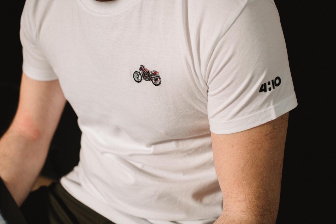 Les Tee shirts moto 4h10 sont enfin là !