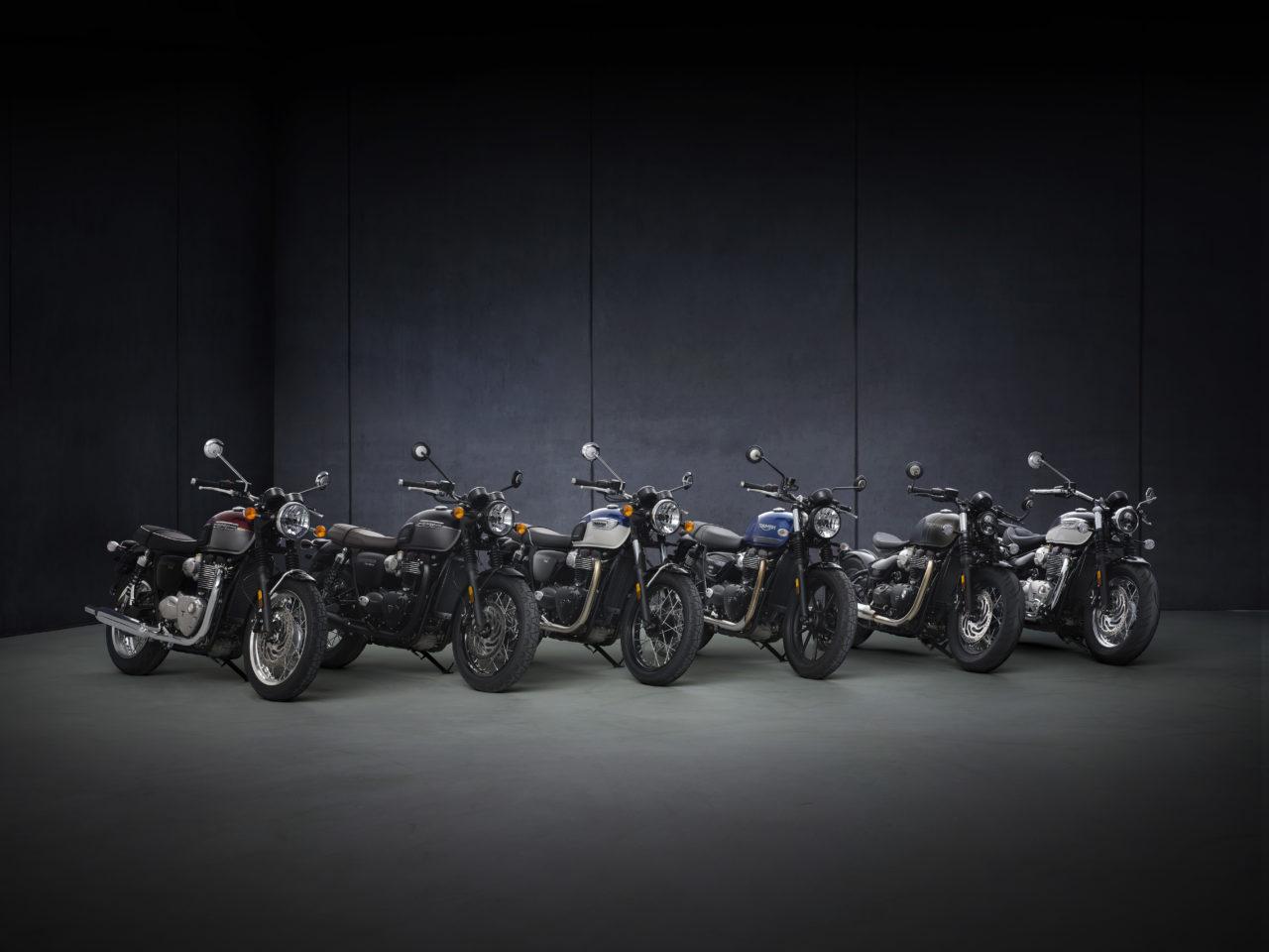 Les nouveautés Triumph 2021 : Bonneville, T120, T100, Street Twin, Bobber