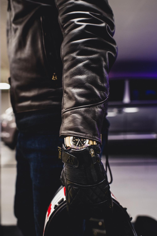 BND Watches noir moto