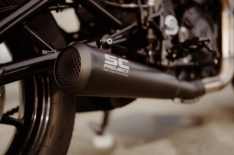 indian FTR prépa moto