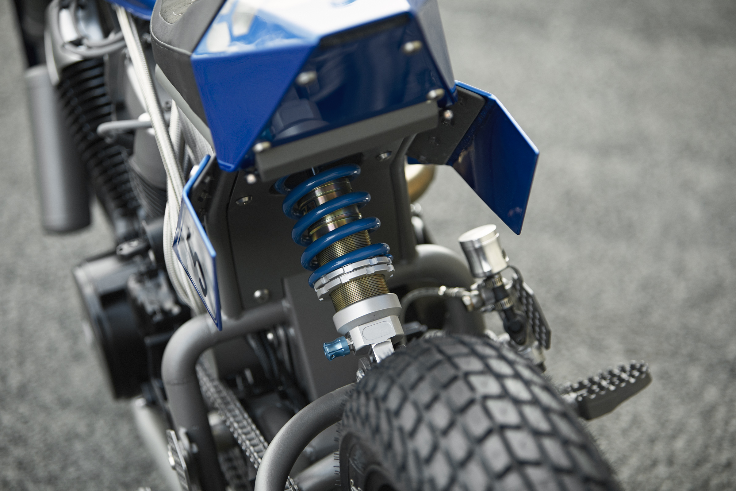 Honda Shadow 750 custom steel bike