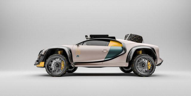 Bugatti Chiron Terracross rallye