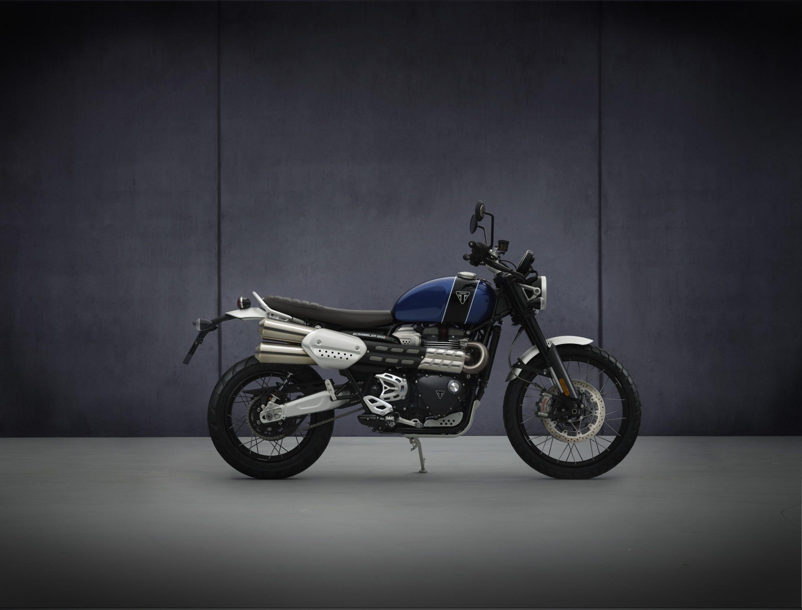 triumph scrambler XE XC 2021