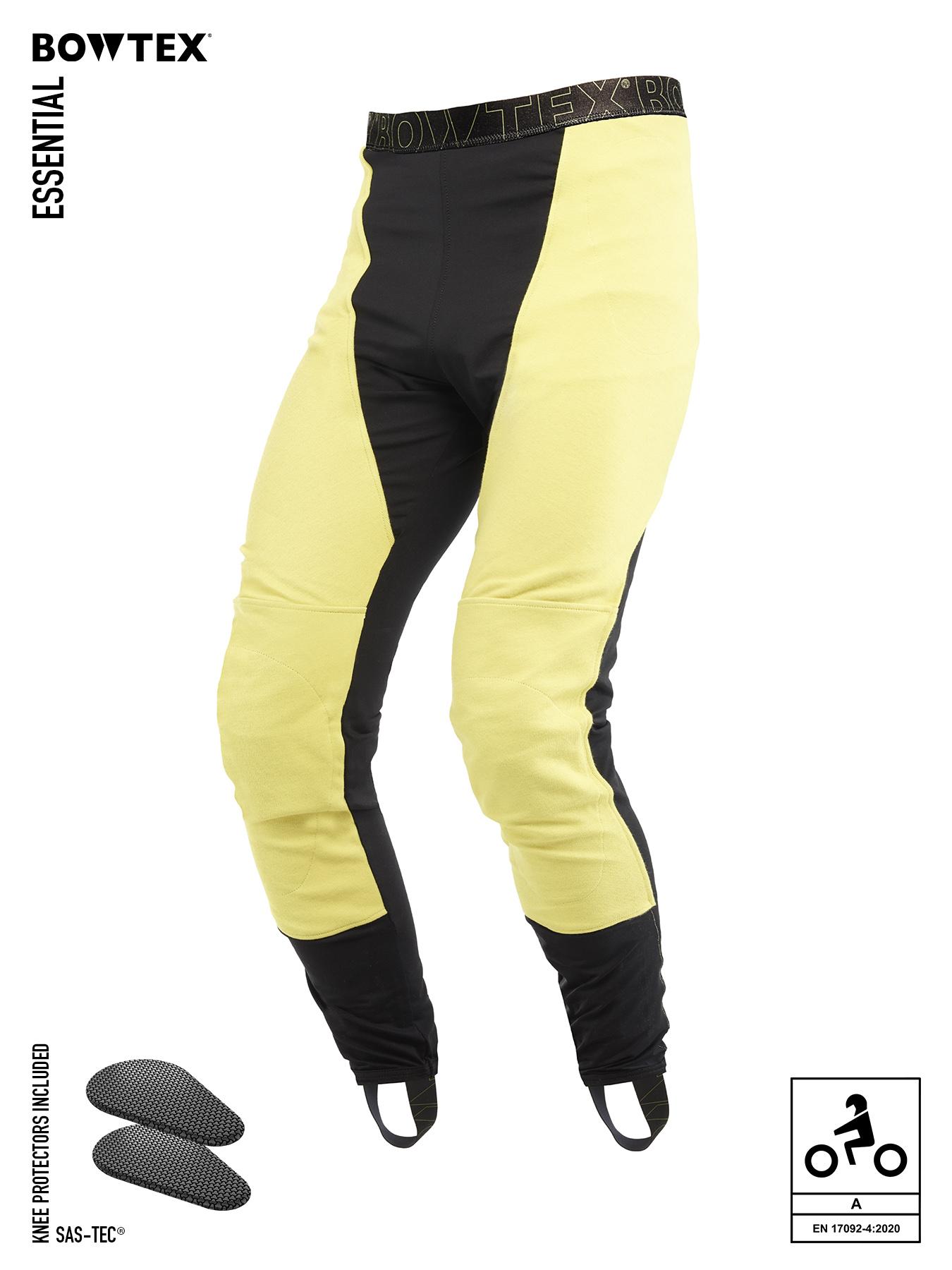 Bowtex essential legging moto protection ce