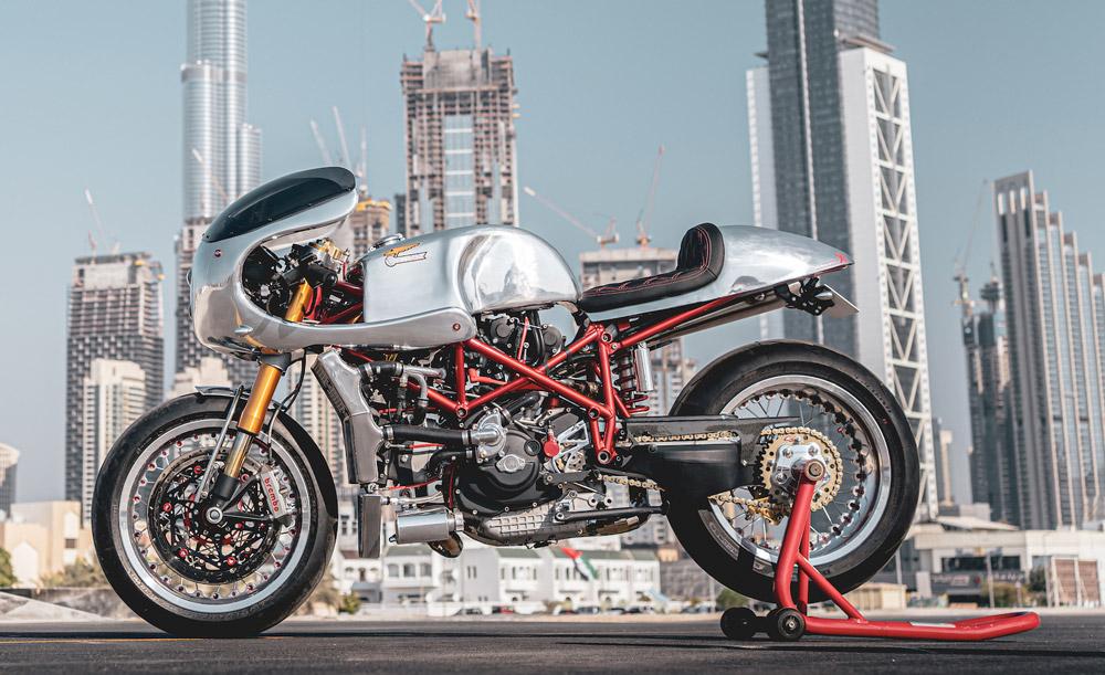 Ducati 996 Cafe Racer par Vendetta Racing