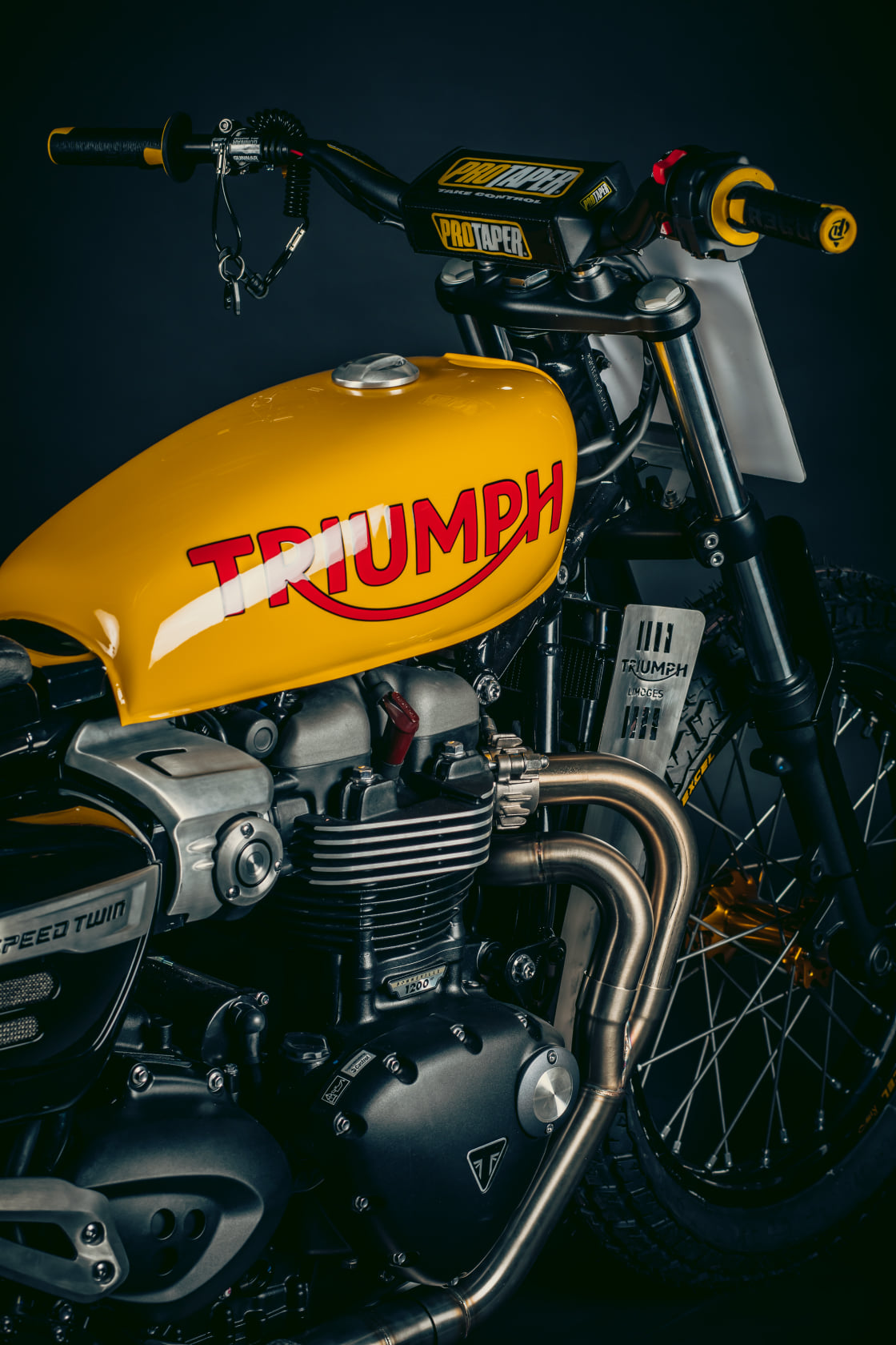 Triumph Speed Twin Project Limoges flat track
