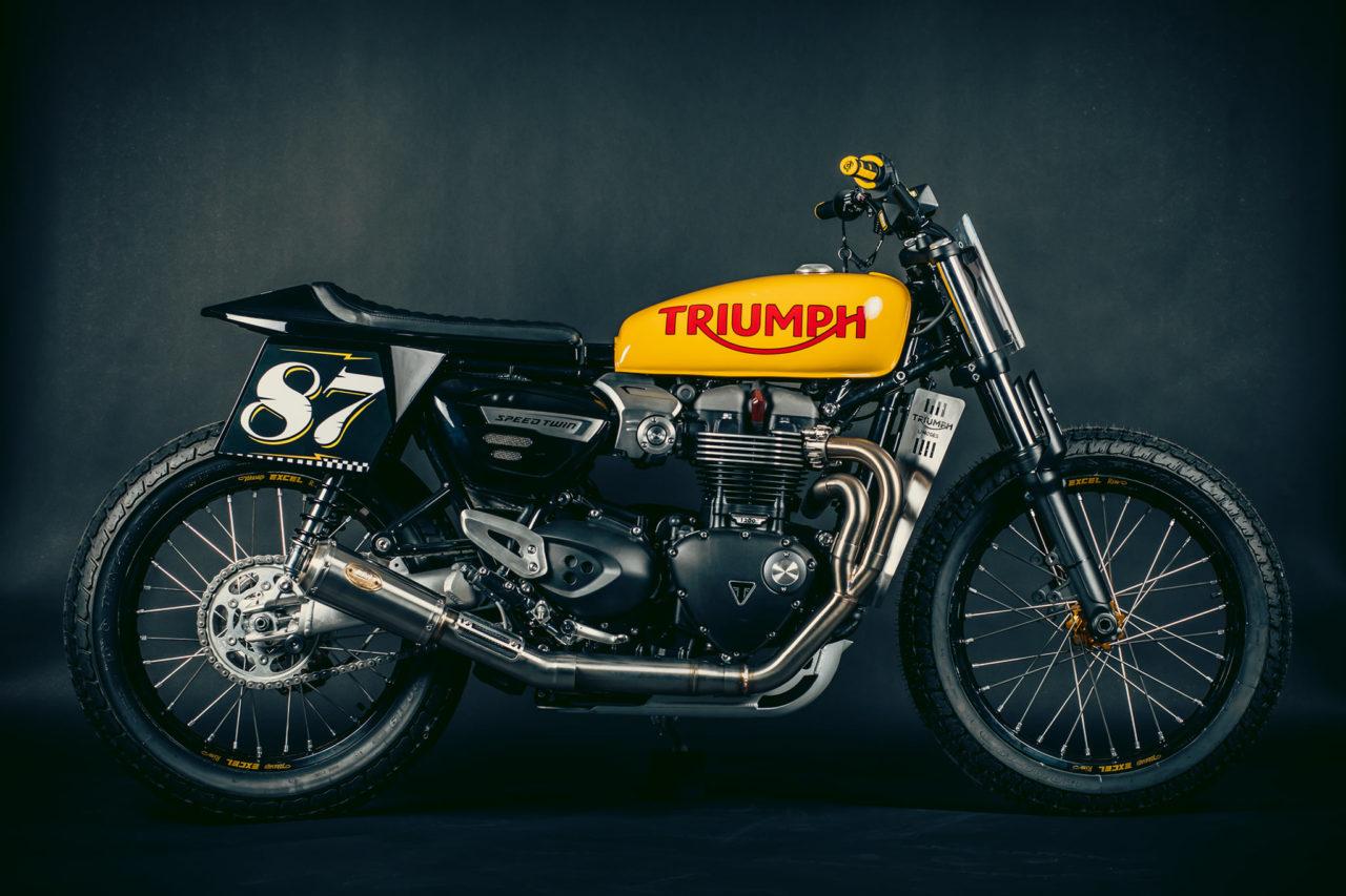 Triumph Speed Twin Projet : la belle prépa de Triumph Limoges