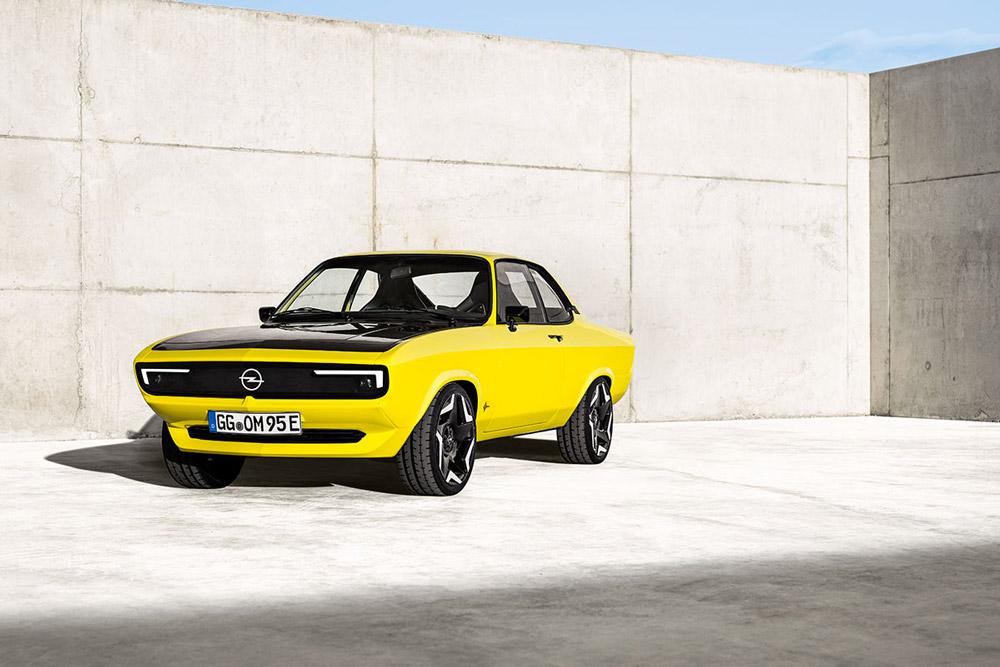 Opel Manta GSe ElektroMOD les classiques passent à l'électrique !