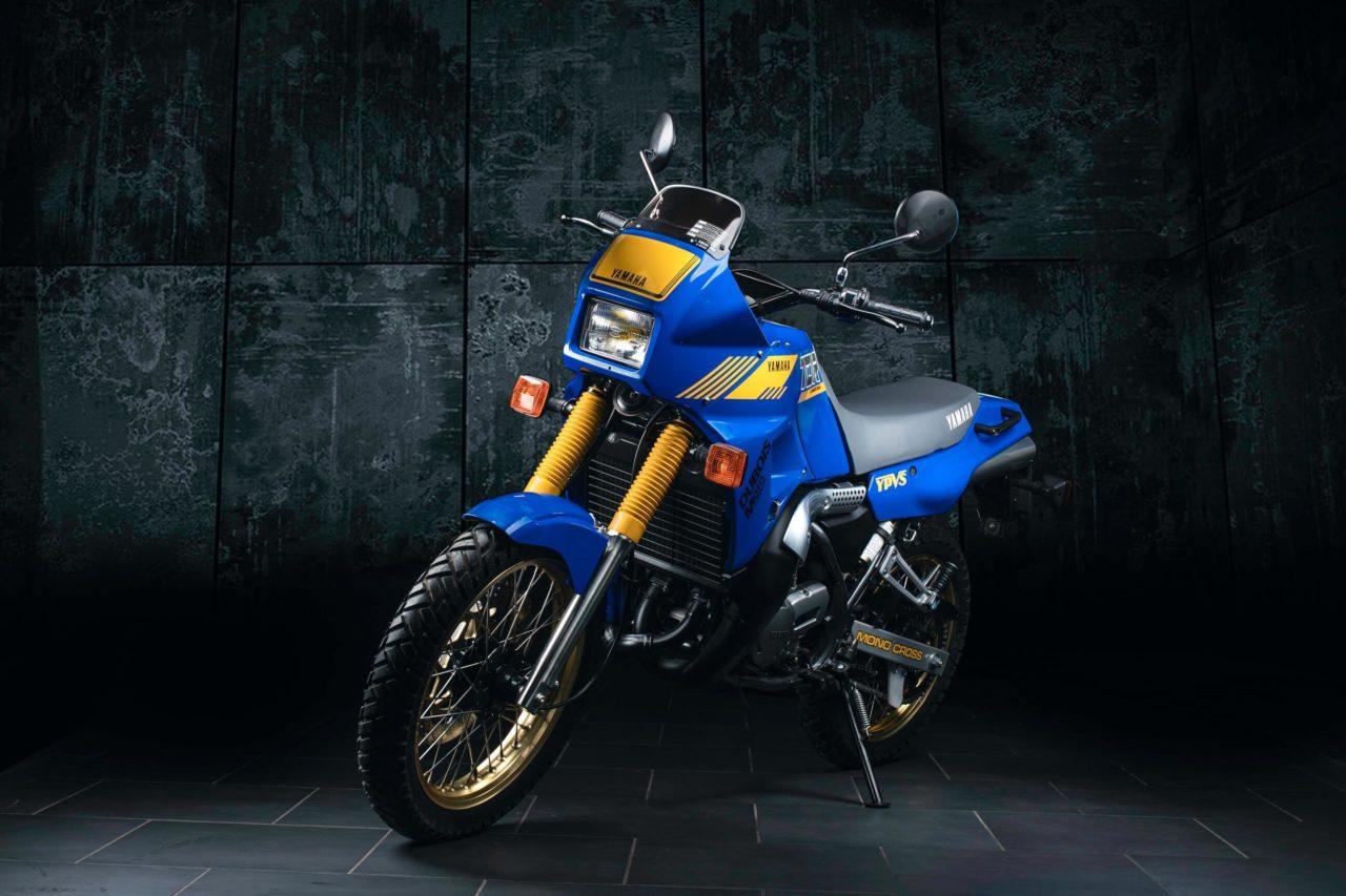 Cette Yamaha 240 TDR 2 temps n'a que 2,4 km au compteur …