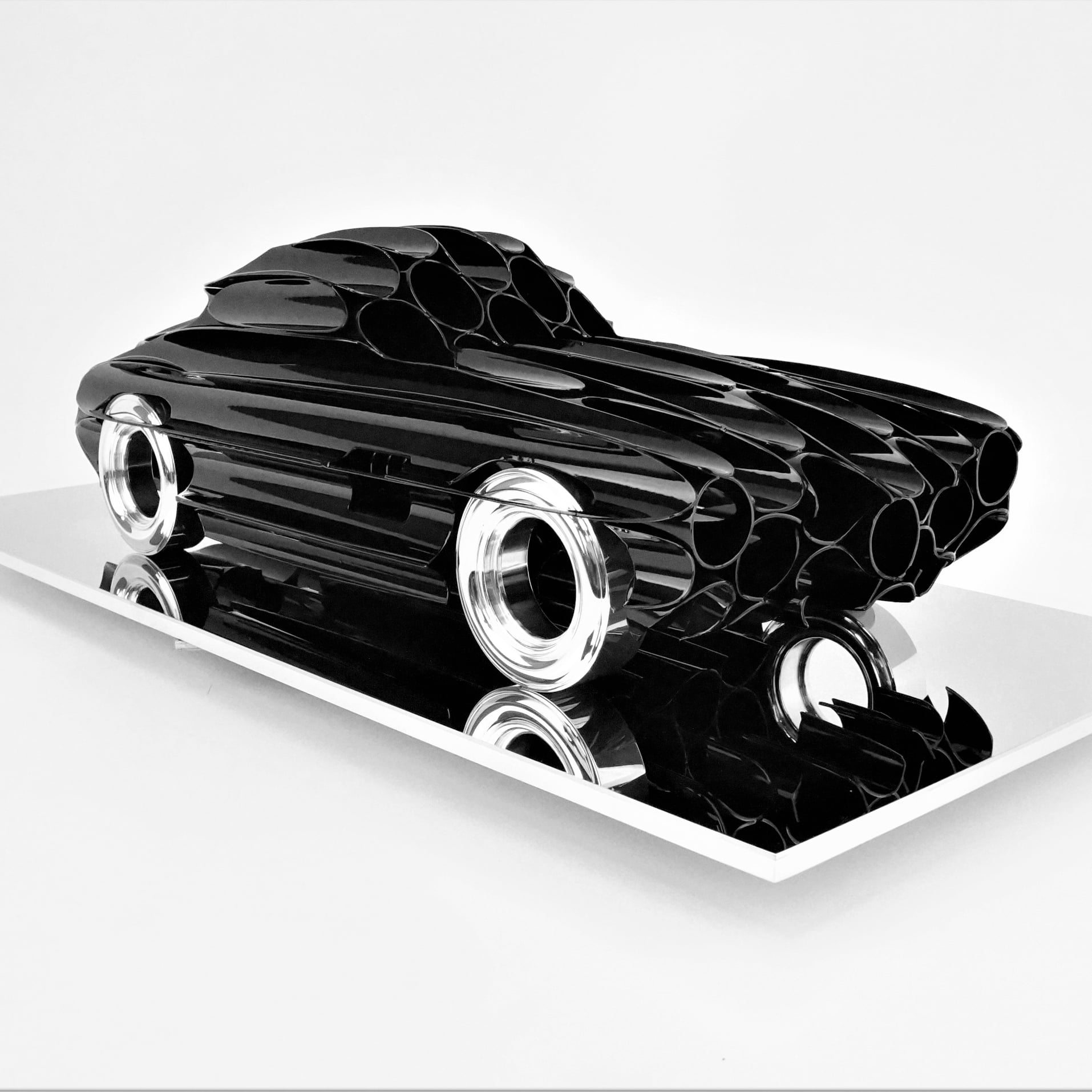 Art sculpture auto