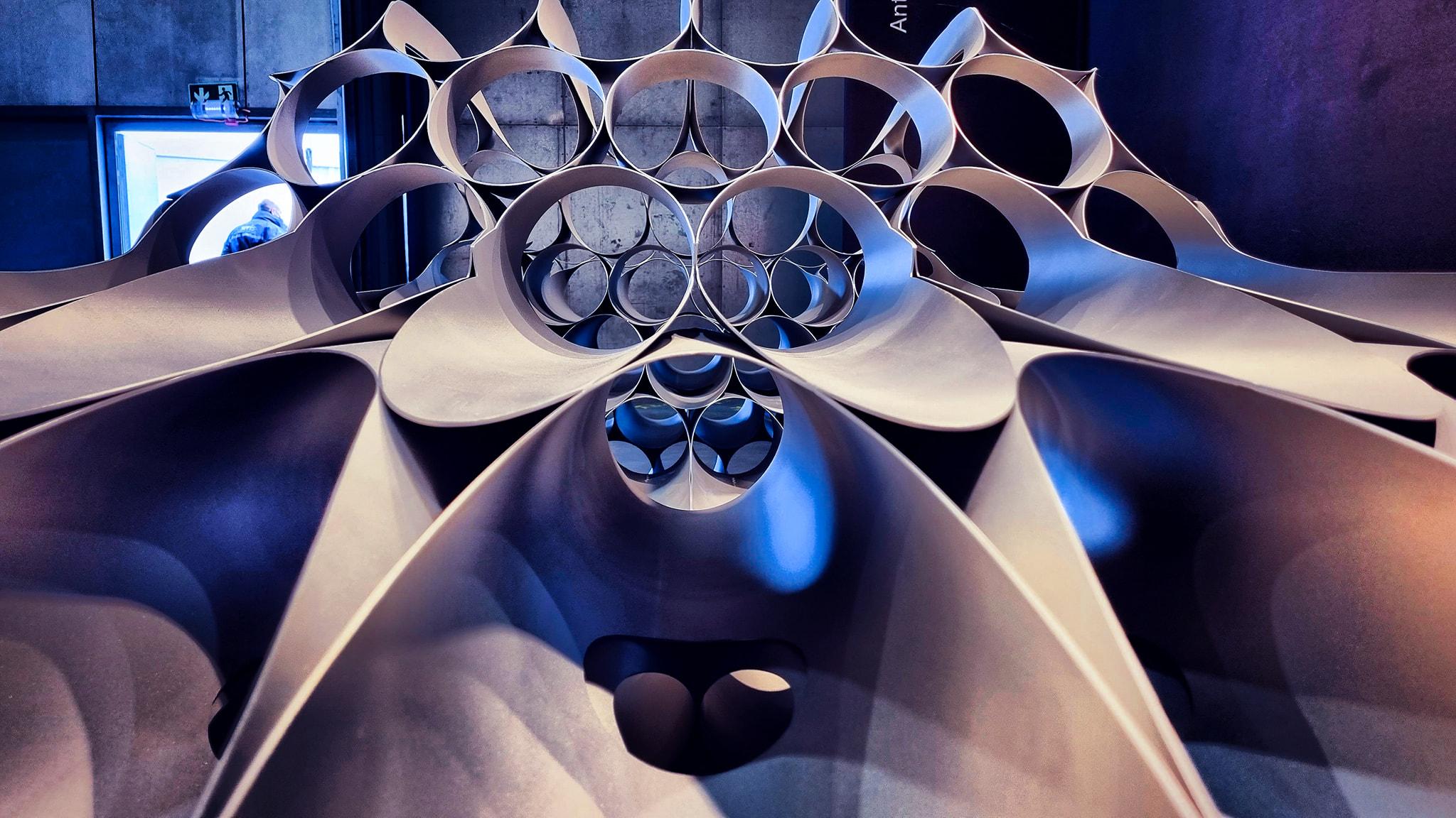 Détails 150 tubes inox - effet de vitesse