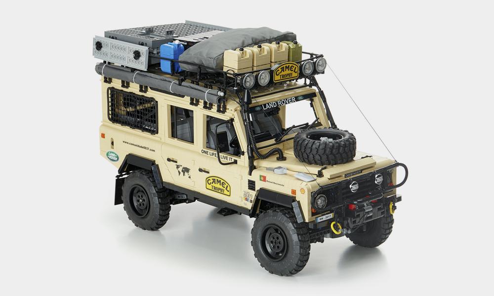 Craquez pour ce Land Rover Camel Trophy en Lego !