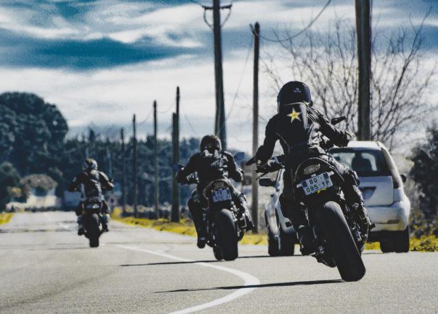 Route à moto 4h10