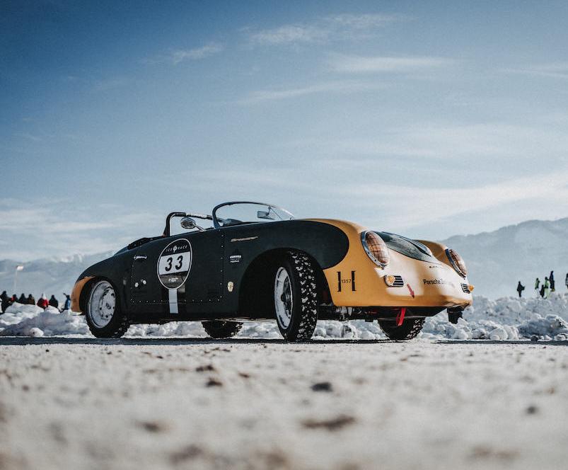 Porsche 356 Speedster version Ice racer !