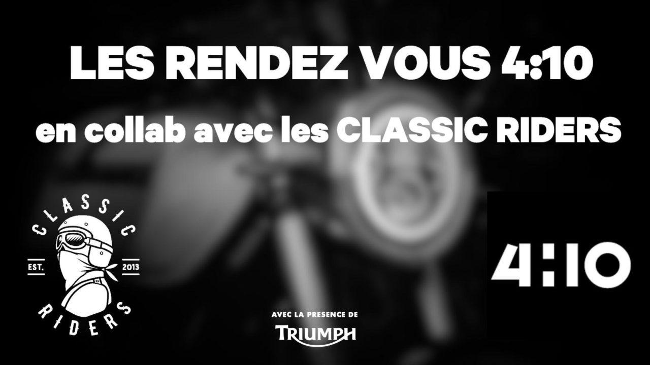 Soirée 4h10 x Paris Classic Rider