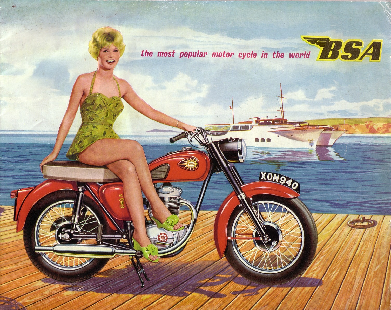 BSA 1960 Front Cover