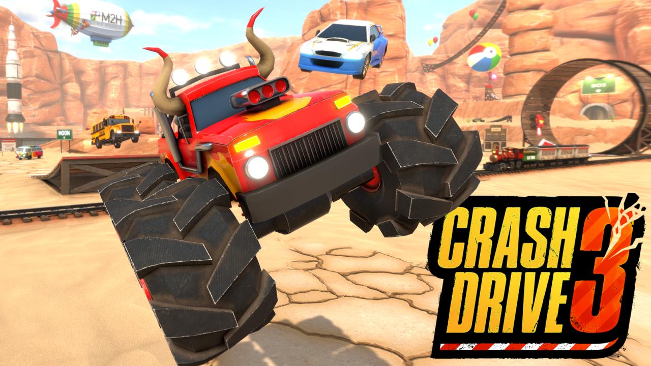Crash Drive 3 | Le jeu multijoueur crash vintage