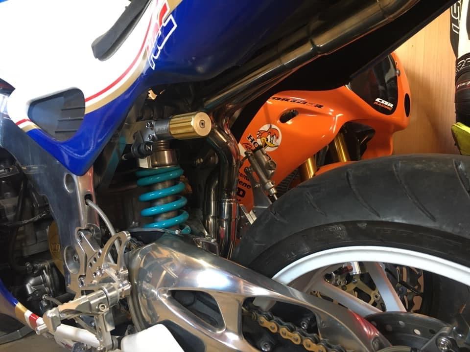 Suspension Moto