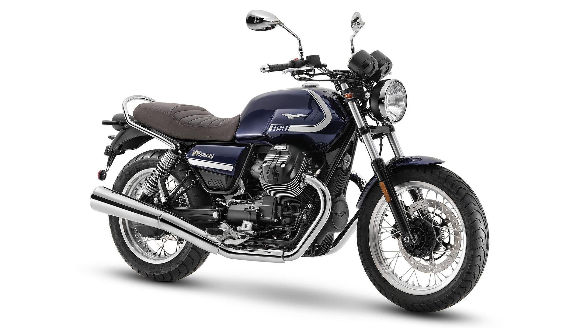 Moto Guzzi V7 2021 Special 850 avant droit